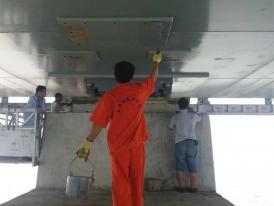 梁底钢板防腐处理